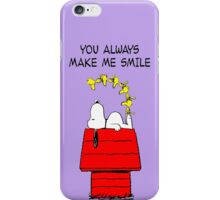 Happy Snoopy iPhone Case/Skin