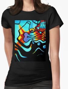 BUSINESS AS USUAL 1.0 Womens Fitted T-Shirt