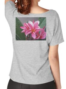 Pink Plumeria Women's Relaxed Fit T-Shirt