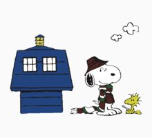 Snoopy Doctor Who Kids Clothes