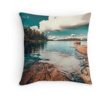 Belle Svezia Throw Pillow