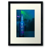 vk vodka Framed Print