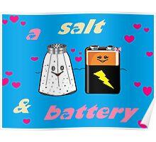 A Salt & Battery Poster