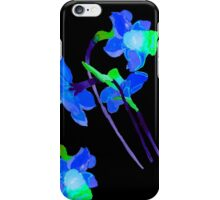 Watercolor narcissus flower  iPhone Case/Skin