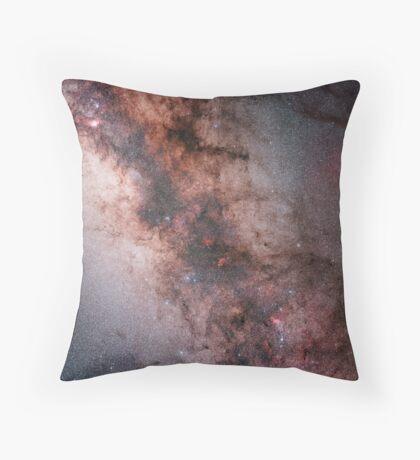 Milky Way Mosaic Throw Pillow
