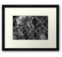 His Metal Garden Framed Print