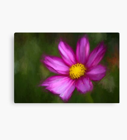 Yellow centre Canvas Print