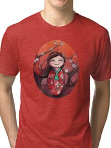 Kokeshi Selene Tri-blend T-Shirt
