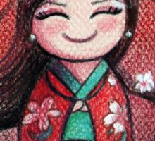 Kokeshi Selene Sticker
