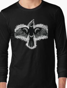 Coast Salish Crow Long Sleeve T-Shirt
