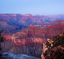 Grand Canyon at Dusk by Ruby  Pen