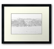 Abbey House distant view Framed Print