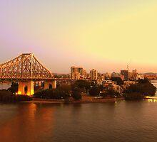 Kangaroo Point, Brisbane by Sherene Clow