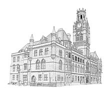 Barrow Town Hall Photographic Print