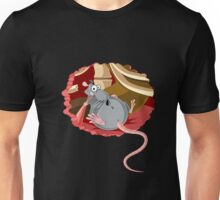 The hungry rib cage rat Unisex T-Shirt