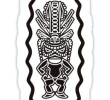 Tiki Masks Sticker