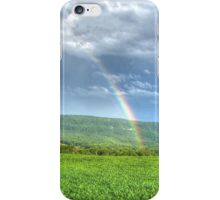 Crops At The End Of The Rainbow iPhone Case/Skin