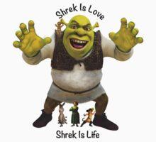 Shrek is Love, Shrek is Life. Kids Clothes