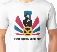 From Britain with love Unisex T-Shirt