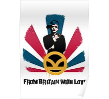 From Britain with love Poster