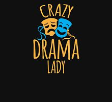 CRAZY Drama Lady new Womens Fitted T-Shirt