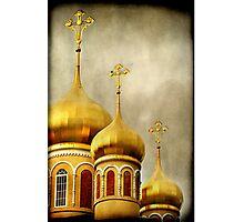 Russian Orthodox Church Photographic Print