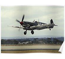"Spitfire ""Grey Nurse"" landing Poster"