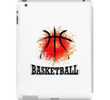 Vector Grunge Basketball iPad Case/Skin