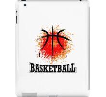 Vector Grunge Basketball iPad Case/Skin