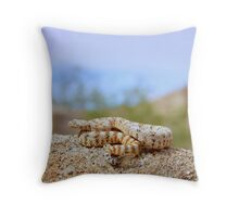 The Dwarf White Speckled Rattlesnake Throw Pillow
