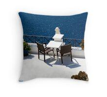 Take a Seat and enjoy Throw Pillow