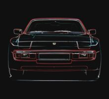Porsche 944 Front by supersnapper