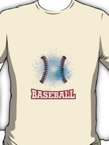 Vector grunge baseball  T-Shirt