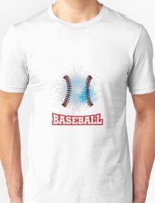 Vector grunge baseball  Unisex T-Shirt