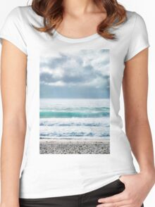 The Waves Women's Fitted Scoop T-Shirt