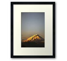 Cotopaxi sunrise Framed Print