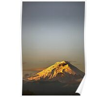 Cotopaxi sunrise Poster