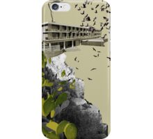 A Homeland souvenir #1: The hotel & the prickly pears. iPhone Case/Skin