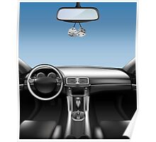 Car Auto Dashboard Poster