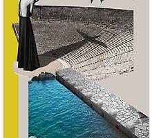 A Homeland souvenir #2: The theater, the swan & the oranges. by DANAI GKONI