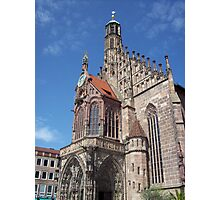 Cathedral, Nuremberg Photographic Print