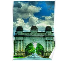 Lest We Forget - Arch Of Victory, Ballarat, Victoria - The HDR Experience Poster
