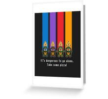 The Legend of TMNT - Brothers Greeting Card