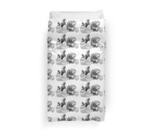 The Sea Monsters Duvet Cover