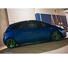 Toyota Yaris Photographic Print