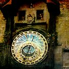 Astronomical Clock in the Old Town Hall, Prague by David's Photoshop