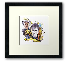Dr Who and the Stolen Earth Framed Print