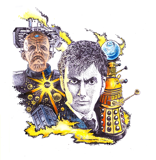 Dr Who and the Stolen Earth by SnakeArtist