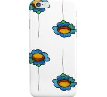 Watercolor daisy iPhone Case/Skin