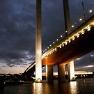 Bolte Bridge at night by Ajmdc